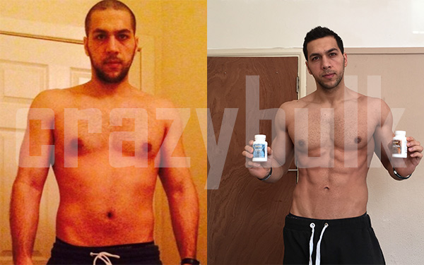 MOHAMAD D. before and after pic
